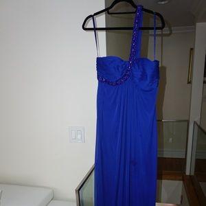 Blue Xscape gown